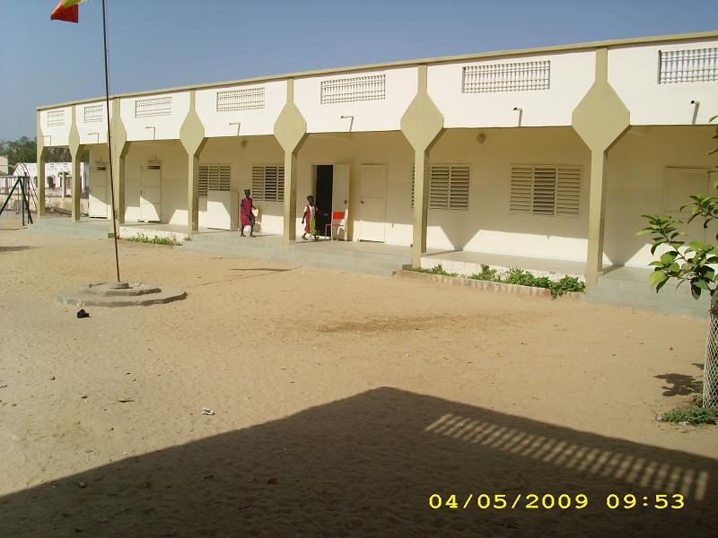 Ecole Georges Flattery des Assemblées de Dieu à Kaolack au Sénégal.