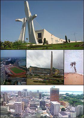 Ville d'Abidjan photo prise sur le site www.fr.wikipedia.org