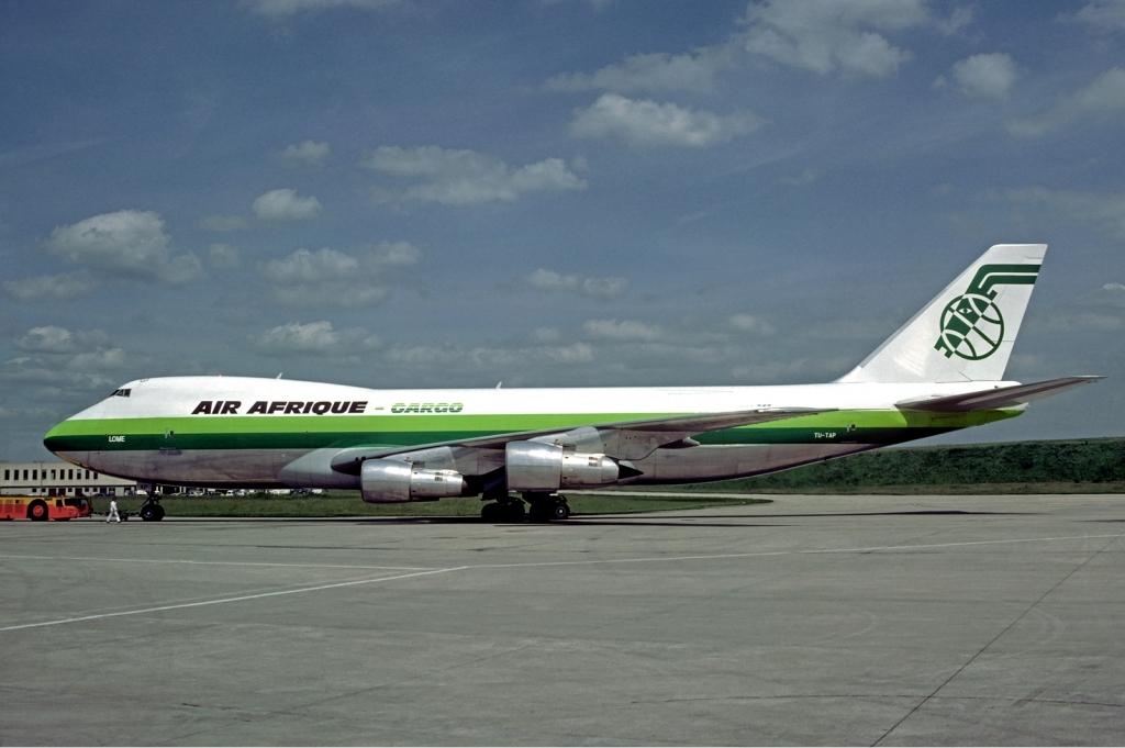 Air Afrique en 1981 par Christian Volpati (Wikimedia Commons)