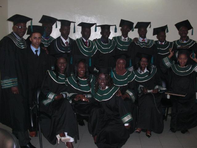 Cérémonie de remise de diplôme IAM 2008 par DITI IAM 2008