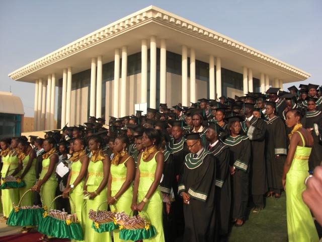 Cérémonie de remise de diplôme IAM 2008 à la Place du Souvenir Africain par DITI IAM 2008