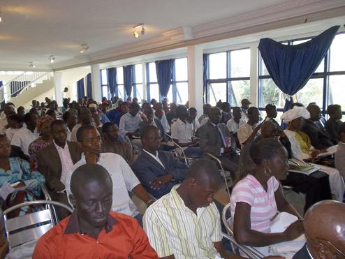 Photo 3 cérémonie de lancement Quinzaine de la Francophonie 2012 photo prise sur le site www.confejes.org