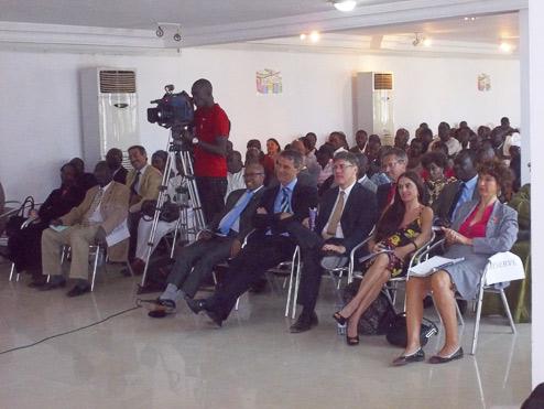 Photo 2 cérémonie de lancement Quinzaine de la Francophonie 2012 photo prise sur le site www.confejes.org