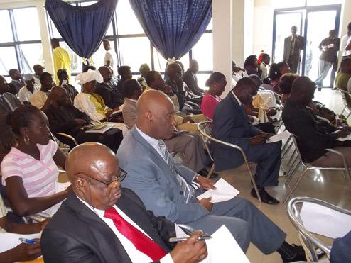 Photo cérémonie de lancement Quinzaine de la Francophonie 2012 www.confejes.org