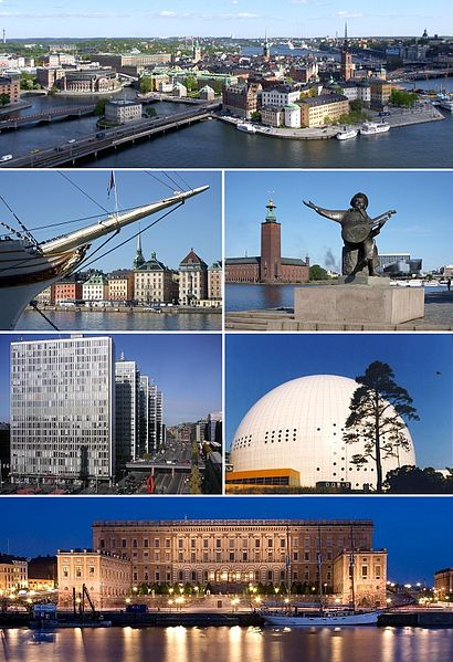 Stockholm par Holger.Ellgaard (image 1-5) et Abhijeet Vardhan (image 6) Wikimédia (Commons)