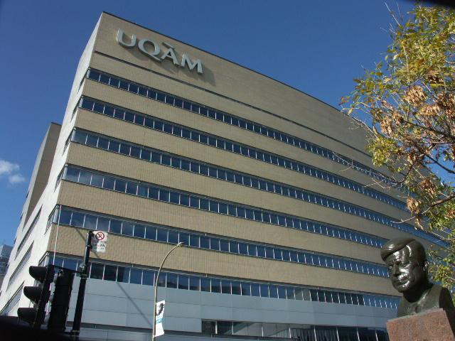 Université du Québec à Montréal Pavillon Président Kennedy par Gene Arboit Wikimedia (Communs)