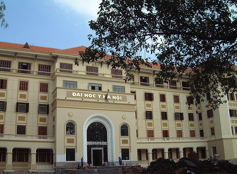 Université Médicale Hanoi en 2009 par NTT Wikimedia (Communs)