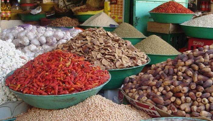 Etale sur un marché africain : « Crédit photo : http://agenda2063.au.int/en/home».